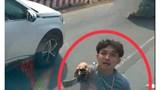Công an xác minh tố cáo đôi nam nữ cầm kiếm chém nát kính xe tải trên QL1A