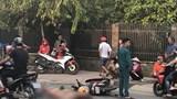 Va chạm với ô tô tải, người phụ nữ chết thảm dưới bánh xe