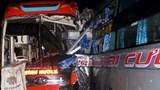 3 xe khách đâm nhau trên đường Hồ Chí Minh, nhiều hành khách bị thương