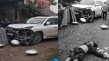 Danh tính tài xế điều khiển xe Lexus biển ngũ quý tông chết người ở Hà Nội