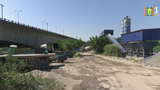 Khu vực gầm cầu Thanh Trì đang bị chiếm dụng trái quy định pháp luật