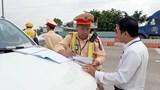 Tổng kiểm soát xe tải, xe khách trên cao tốc TP HCM – Trung Lương