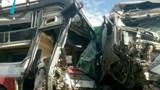 Xe container lấn làn tông trực diện ô tô khách