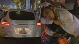 Húc móp đuôi siêu xe Porsche Panamera, shipper giả say rượu để khỏi bị đền