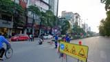 Phân luồng giao thông phố Kim Mã phục vụ thi công đường sắt đô thị