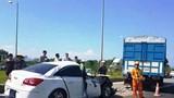 Tai nạn trên cao tốc Hà Nội - Thái Nguyên khiến 2 người bị thương