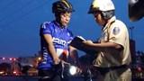 Chấn chỉnh tình trạng người đi xe đạp thể thao vi phạm ATGT