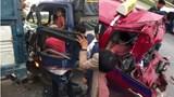 Video tai nạn hy hữu: Tài xế xe tải bị tông 2 lần liên tiếp trên cao tốc