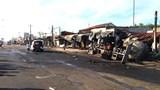 Khởi tố vụ cháy xe bồn chở xăng khiến 6 người tử vong tại Bình Phước