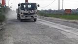 Hoài Đức: 3 lần cải tạo, đường Sơn Đồng vẫn bị xuống cấp
