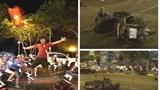"""TP Hồ Chí Minh xử lý 78 trường hợp """"đi bão"""" vi phạm giao thông sau chiến thắng của đội tuyển Việt Nam"""