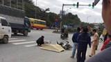 Hà Nội: Xe máy va chạm ô tô khách, một người tử vong trên đường Lê Trọng Tấn