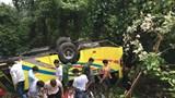 Bộ Giao thông vận tải họp khẩn vụ lật xe trên đèo Hải Vân