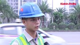[Video] Những cái bẫy bùn đất và giao thông hỗn loạn trên Đại lộ Thăng Long
