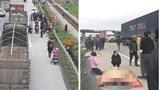 Xe tải tông đoàn người đi bộ trên quốc lộ 5, ít nhất 8 người tử vong