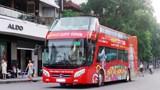 Buýt Hà Nội City Tour đáp ứng tốt nhất nhu cầu đi lại của hành khách dịp Tết
