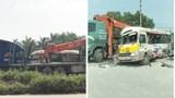 Tai nạn liên hoàn trên Đại lộ Thăng Long khiến 2 người tử vong