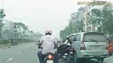 Công an huyện Thanh Trì tìm người chứng kiến tai nạn giao thông