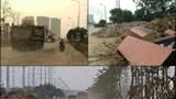 Tại phường Phú Thượng, quận Tây Hồ: Đường giao thông nhếch nhác, tiềm ẩn tai nạn