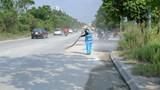 Khó khăn duy trì vệ sinh Đại lộ Thăng Long