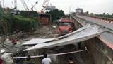 """Vụ xe container """"sập bẫy"""" tuyến đường ống nước mặt Sông Đuống: Sẽ cấp nước trở lại trong đêm nay"""