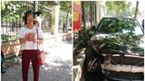 Thông tin mới nhất vụ ô tô Mercedes đâm trọng thương người buôn bán phế liệu