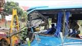 Mưa lớn hạn chế tầm nhìn, liên tiếp xảy ra tai nạn giao thông