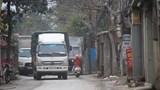 Mất an toàn giao thông trên đường Hoàng Tăng Bí