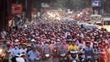 Tiếp tục xây dựng lộ trình cấm xe máy trong khu vực nội đô