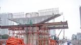 Cầu cạn Mai Dịch – Nam Thăng Long tăng tốc 'bù' tiến độ