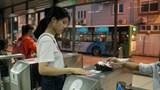 Kết thúc thời gian thí điểm hệ thống vé điện tử tuyến buýt BRT 01