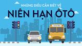 Niên hạn sử dụng xe ô tô ở Việt Nam được tính như thế nào?