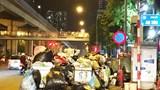 UBND quận Hà Đông nói gì về điểm tập kết rác cản trở giao thông trên đường Trần Phú?
