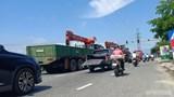 """Chủ xe bán tải chở """"máy chém"""" đánh rơi trên đường: Xin được xử phạt nhẹ"""