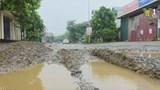 Hà Nội: Dân khổ vì Tỉnh lộ 418 xuống cấp nghiêm trọng
