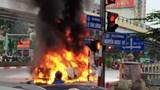 Danh tính cô gái tử vong vụ ô tô Mercedes bốc cháy sau tai nạn liên hoàn