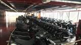 Công an quận Hoàng Mai tìm chủ sở hữu của 10 xe máy