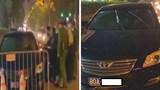 Hà Nội: Chặn ô tô biển xanh gây tai nạn rồi bỏ chạy trên đường Láng Hạ