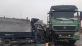 Nam Định: Ô tô tải đâm vào xe đầu kéo, 1 người tử vong