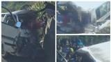 Ô tô chở đoàn nghệ thuật tình thương gặp nạn khiến 2 người tử vong