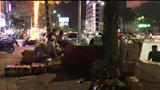 Nhà xe Hưng Long đại náo phố Trần Khát Chân