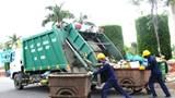 Hà Nội: Phân luồng vận chuyển rác tạm thời