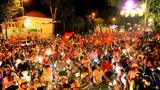 TP Hồ Chí Minh: Cấm đường ở trung tâm trong đêm nhạc tri ân người hâm mộ bóng đá