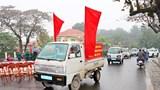 Sơn Tây ra quân đảm bảo trật tự an toàn giao thông