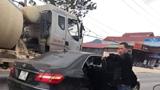 Cán bộ Phòng Cảnh sát kinh tế Lạng Sơn lái Mercedes gây tai nạn chết người