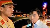 Uống rượu lái xe, trưởng khoa một bệnh viện bị xử phạt và báo về cơ quan