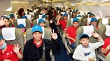 Hơn 1 nghìn lao động tiêu biểu được tặng vé máy bay về quê ăn Tết