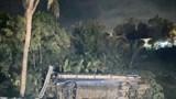 Lật xe khách trong đêm mùng 1 Tết, 26 người bị thương