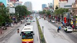 Hà Nội tiếp tục nghiên cứu tổ chức làn đường ưu tiên cho xe buýt