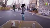 Sử dụng robot giao hàng để tránh dịch bệnh tại Trung Quốc